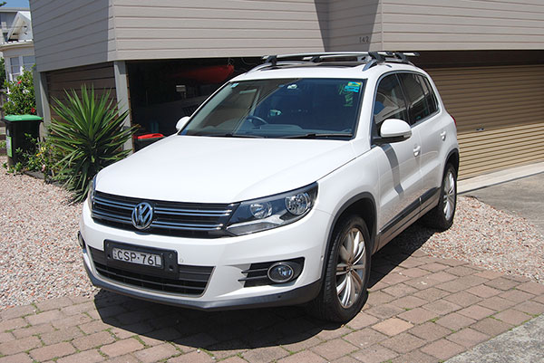 car detailing - products for tiguan